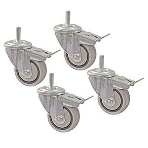 """Kreg 3"""" Dual Locking Caster Set (Set of 4)"""
