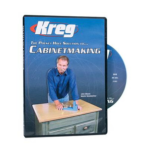 Kreg DVD - Pocket Hole Solution to CABINETMAKING