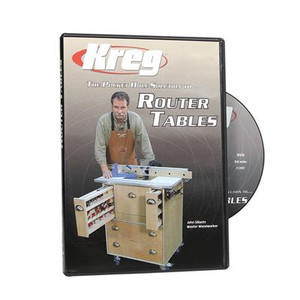 Kreg DVD - Pocket Hole Solution to ROUTER TABLES