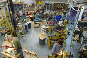 Intermediate Woodturning taught by Woodworker's Emporium Owner Christian Brisepierre