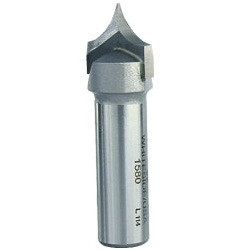 Whiteside 1580 3/8R Plunge Cutting Roundover Router Bit