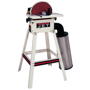"""Jet JDS-12OS 12"""" Open Stand Disc Sander with Dust Collection"""
