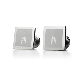 One World Observatory Franklin Mint Cufflinks