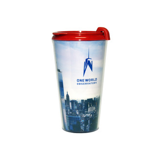 One World Observatory Red Tumbler