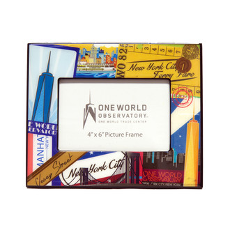 One World Observatory Vintage photo frame