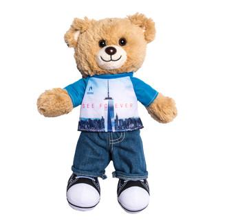 One World Observatory Bear boy