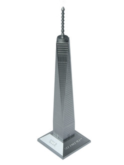"One World Observatory 6"" Resin Replica Statue"