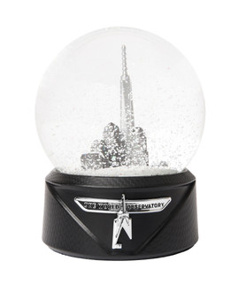 One World Observatory Snow Globe 100mm