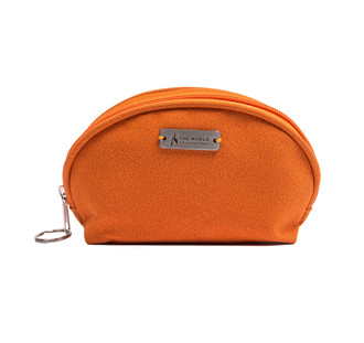 One World Observatory Dome cosmetic bag orange