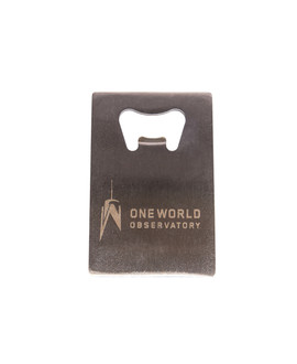 One World Observatory Credit Card Bottle Opener
