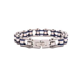 One World Observatory Metal Chain Bracelet