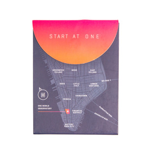 One World Observatory Judith Dupre 3x4 Notepad - Start at One