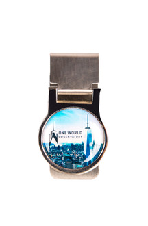 One World Observatory Money Clip