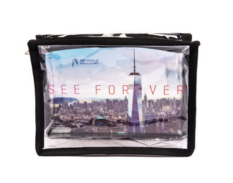 One World Observatory PVC Zipper Case