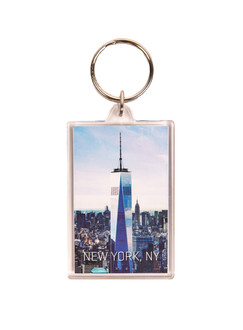 One World Observatory Acrylic keychain Day
