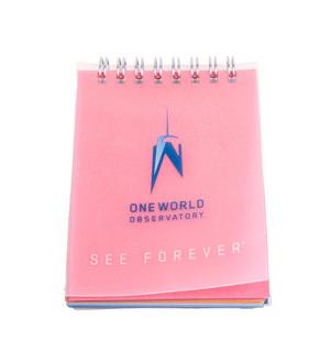 "One World Observatory 3"" Small Muticolor Notebook"