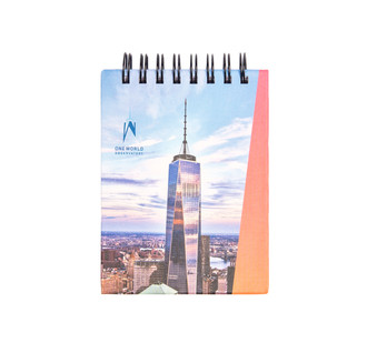 "One World Observatory 3"" Small Solar Notebook"