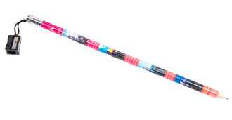 One World Observatory Jumbo Pencil Pink