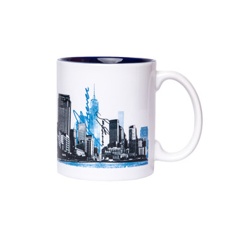One World Observatory URNY Two Tone Mug