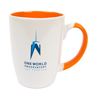 One World Observatory Java Coffee Mug - Multiple Colors Available
