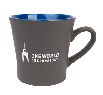 One World Observatory Stormy Ceramic Mug