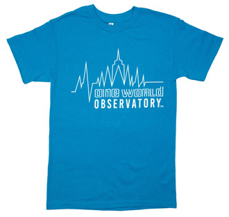 One World Observatory NYC Heartbeat Tee
