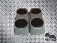 2014 Style Saddlebag Double Speaker Lids for Harley Davidson Touring Motorcycles