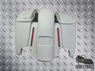 "4.5"" Stretched Saddlebag & Fender Set w/LED Lights 2014-2015"