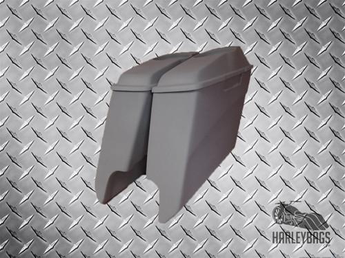 """5"""" Stretched Extended Saddlebags w/ 6x9 Speaker Lids Harley Davidson"""