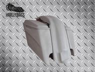 """5"""" Stretched Saddlebags, Lids & Rear Fender -Harley Davidson Motorcycle"""