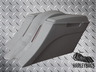 "Harley Davidson ""Down & Out"" Stretched Saddlebag and LED Fender - No Cut Outs"