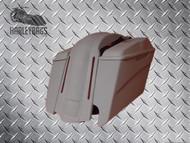 """Harley Davidson 5"""" Stretched 6.5 Speaker Saddlebags & LED Fender"""