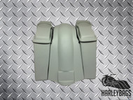 "Harley Davidson 6"" Stretched Saddlebags Fender Kit - 6.5"" Speaker Lids - Uncut"