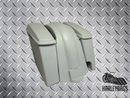 Harley Davidson Softail Heritage Fat Boy Extended Stretched Saddlebags Lids & Fender