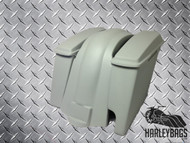 Harley Davidson Stretched Extended Saddlebags & Fender - Right Side 2-in-1 Pipe