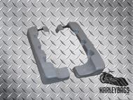 "Harley Davidson Touring 4"" Saddlebag Extensions - Stretched Fiberglass"