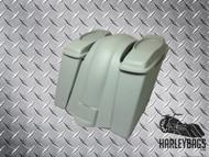 """Harley Davidson Touring Fiberglass 4"""" Extended Saddlebags, Speaker Lids & Fender"""