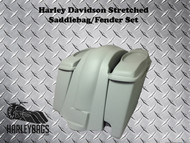 Harley Stretched Saddlebags Fender