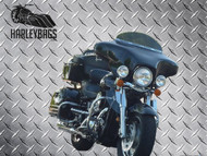 "Kawasaki Vulcan 1500 Nomad Motorcycle Batwing Fairing - 6""x9"" Speaker Cut Outs"