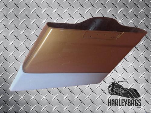 """2014 - 2015 Harley Davidson Touring 4"""" Hard Stretched Saddlebag Extensions"""