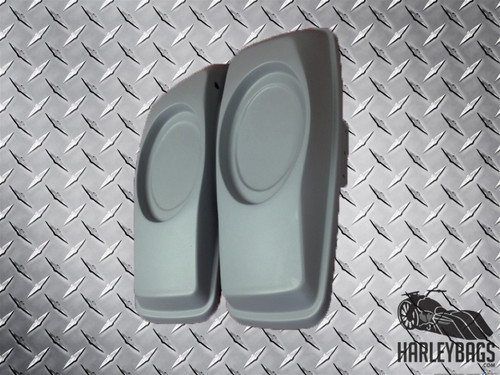"2014 - 2015 Saddlebag 6"" x 9"" Speaker Lids for Harley Davidson Bagger"