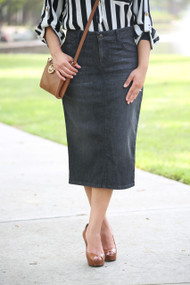 Sonia Premium Denim Skirt