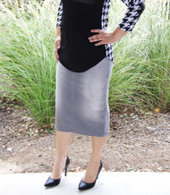 Chasity Premium Denim Skirt