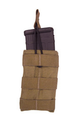 TAC SHIELD Speed Load Rifle Mag Molle Pouch (Coyote)