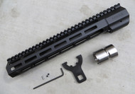 Mega Arms AR-15 Wedge Lock Rifle Length M-Lok Hand Guard (WLH-450-ML) - 12""
