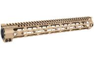 "Midwest Industries 15"" SSK Keymod Handguard (SSK-15) - FDE"