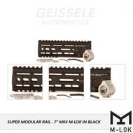 "Geissele MK4 7"" M-LOK Super Modular Rail - Black"
