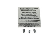Tactical Springs AR15/M4/M16 5-Coil XP Bolt Extractor CS Spring 3-Pak (25035)