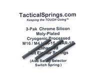 Tactical Springs AR-15 Enhanced Bolt Ejector Spring (3-Pack)