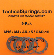 Tactical Springs AR-15 Bolt Ring / Gas Ring (9-Pack)